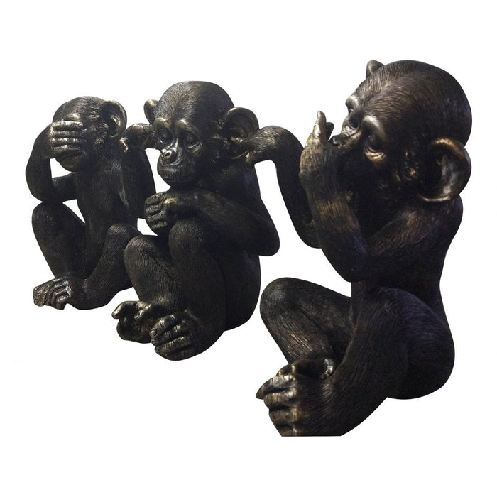 HE DID IT CHIMPS SET OF 3