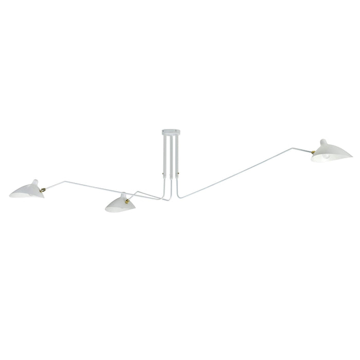 Mid Century MCL-R3 Ceiling Lamp - White
