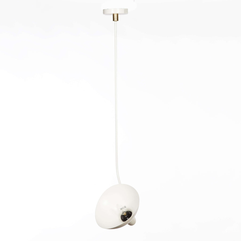 Mid Century Mantis Ceiling Lamp - White