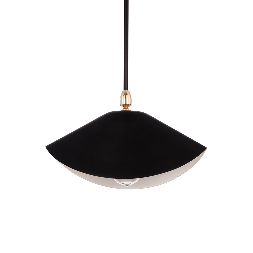 Serge Library Ceiling Lamp - Black
