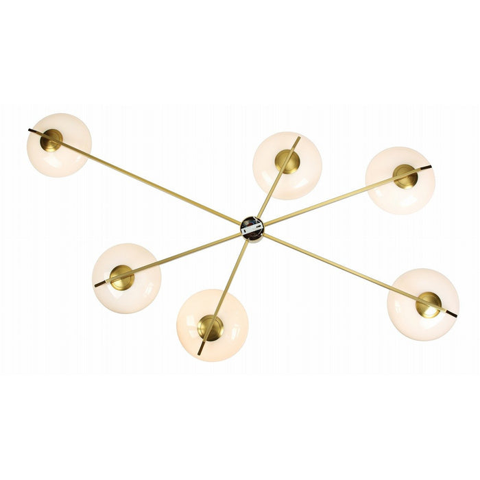 Sarfatti Lelii Flush Mount Ceiling Light