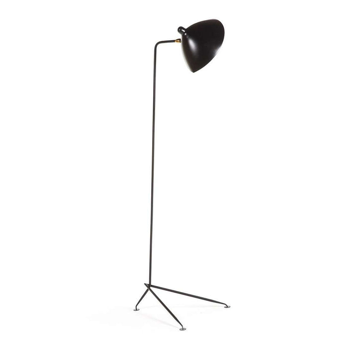 Mid Century MFL-1 Floor Lamp - Black