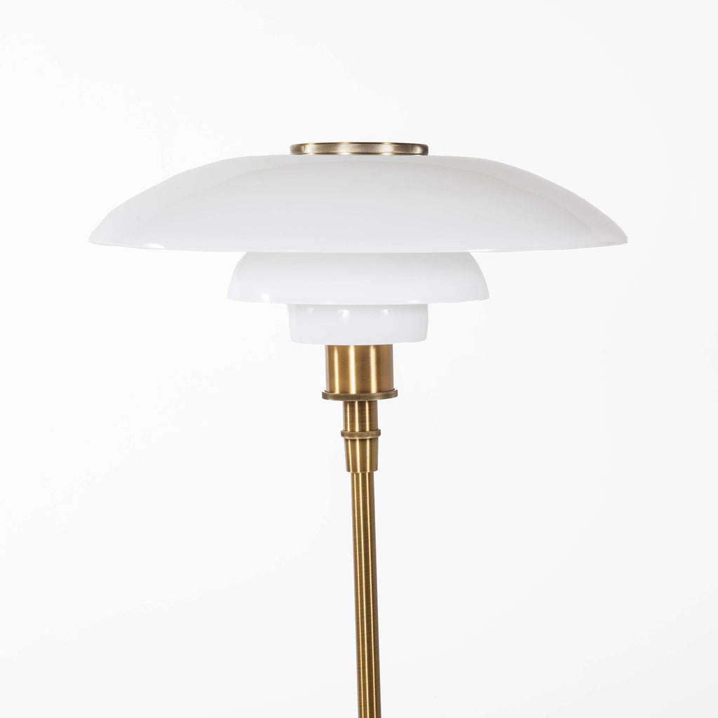 Henningsen Large Floor Lamp - Brass