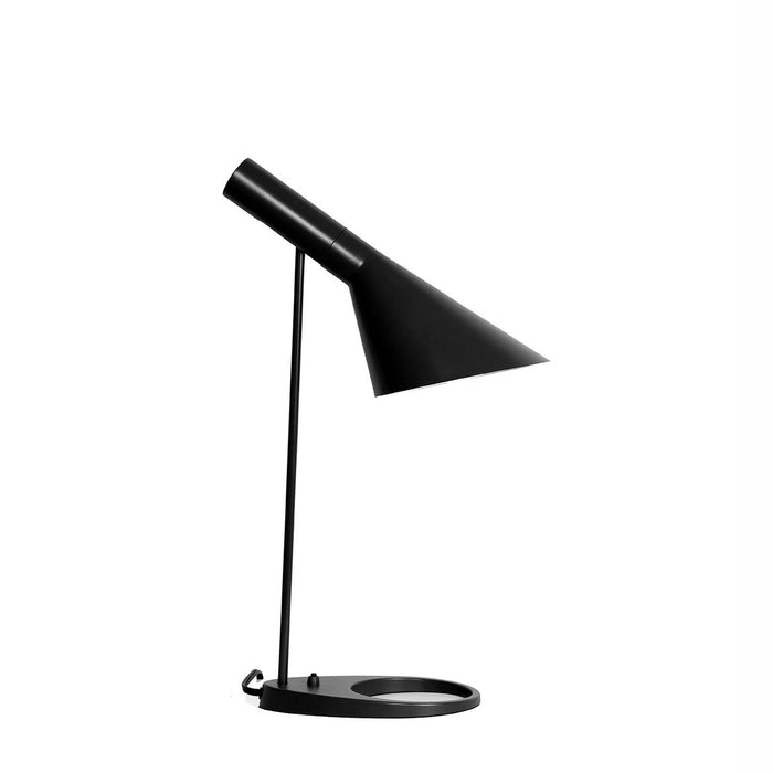 Mid Century Modern Reproduction Aj Table Lamp Black Inspired By Jacobsen France Son