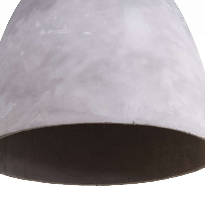 Concrete Dome Pendant Lamp