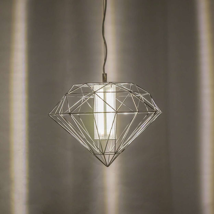 Modern Led Diamond Ceiling Lamp