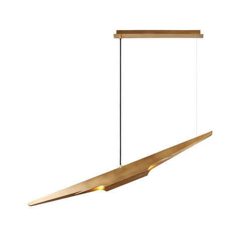 Coltrane Suspension Lamp - Brass [New Product]