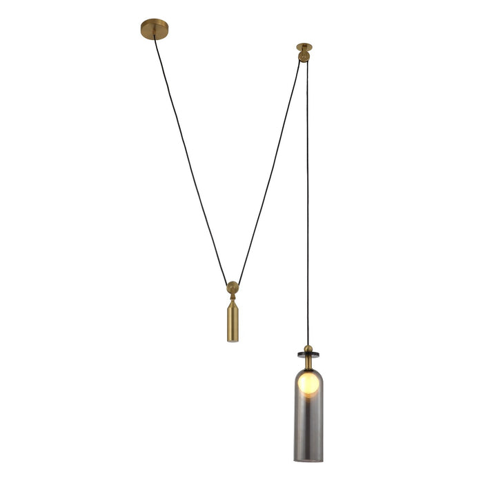 Cylinder Counterweight Pendant Light
