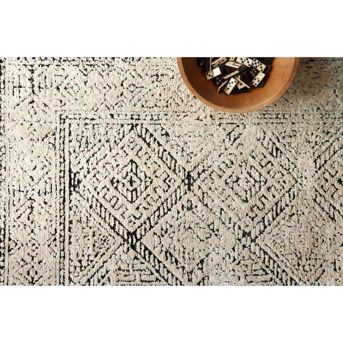 Magnolia Home Lotus LB-07 Ivory / Black Area Rug