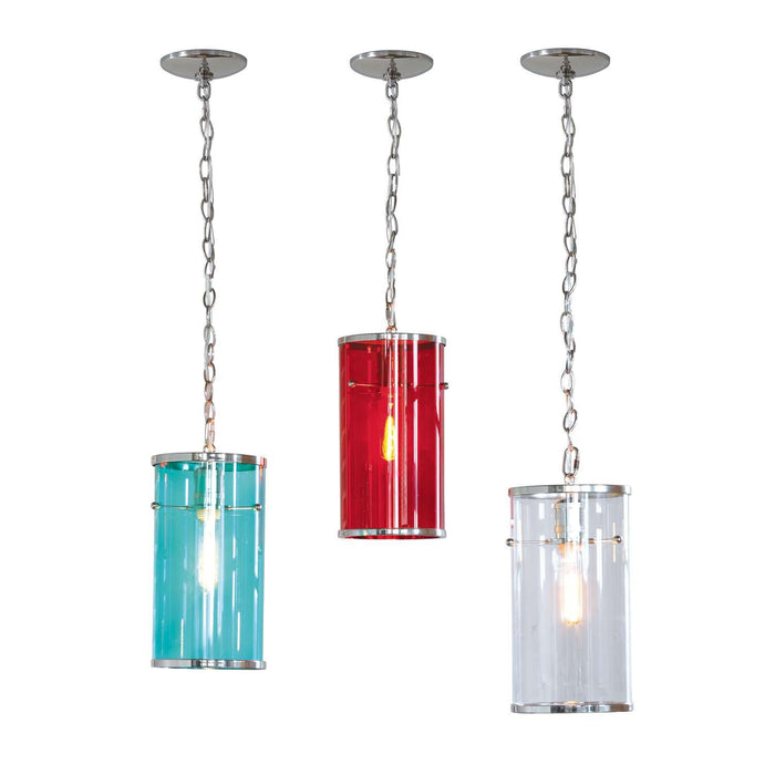 "Cassidy Clear Pendant 13.5""H"