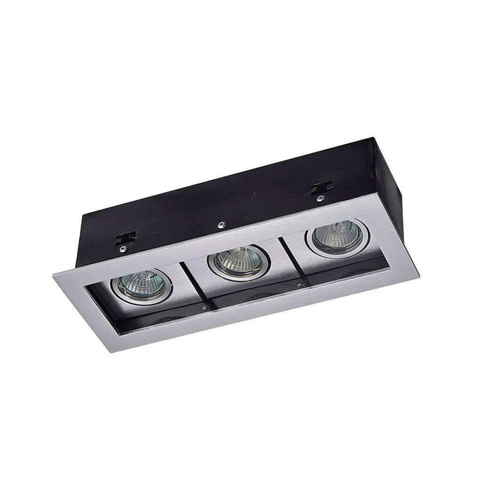 Pluto Recessed Architectural LED Spotlight - Triple