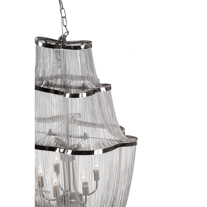 Modern Atlantis Suspension Chain Chandelier