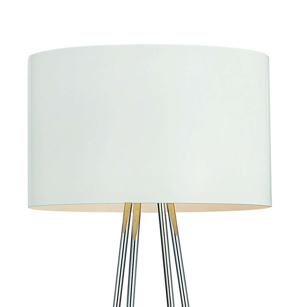 Modern Raymond Floor Lamp - White