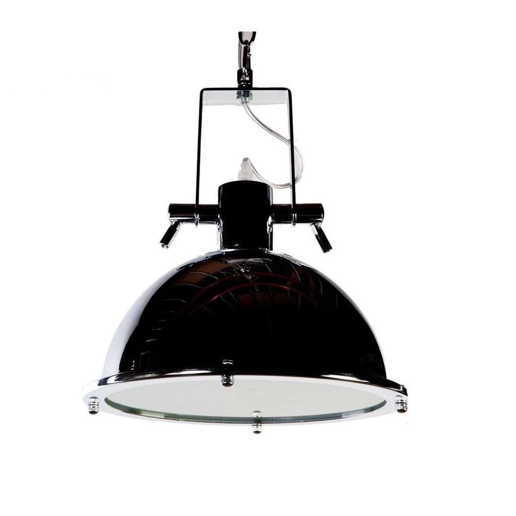 Modern Lauren Ceiling Lamp - Chrome