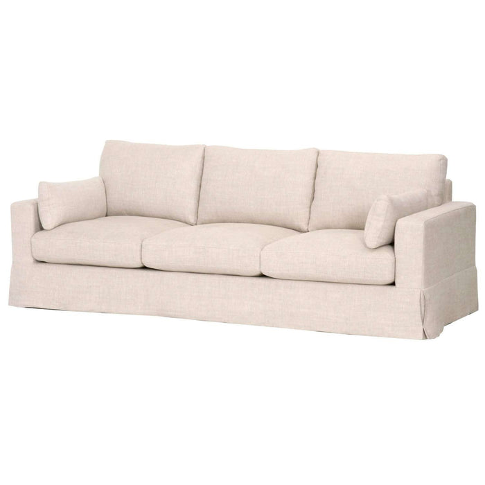 "Maxwell 99"" Sofa Bisque"