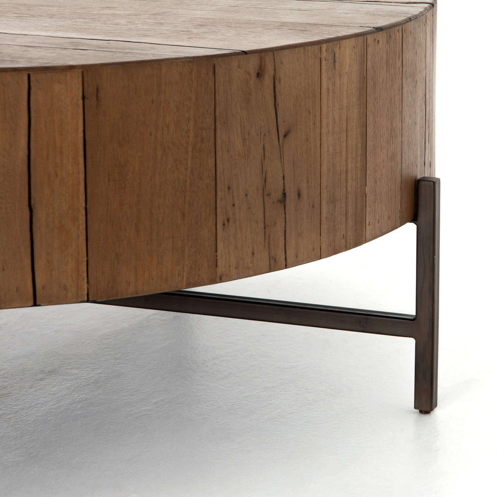 Tinsley Coffee Table Natural Brown France Amp Son
