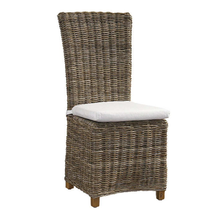 Nico Chair Kubu-With White Cushion