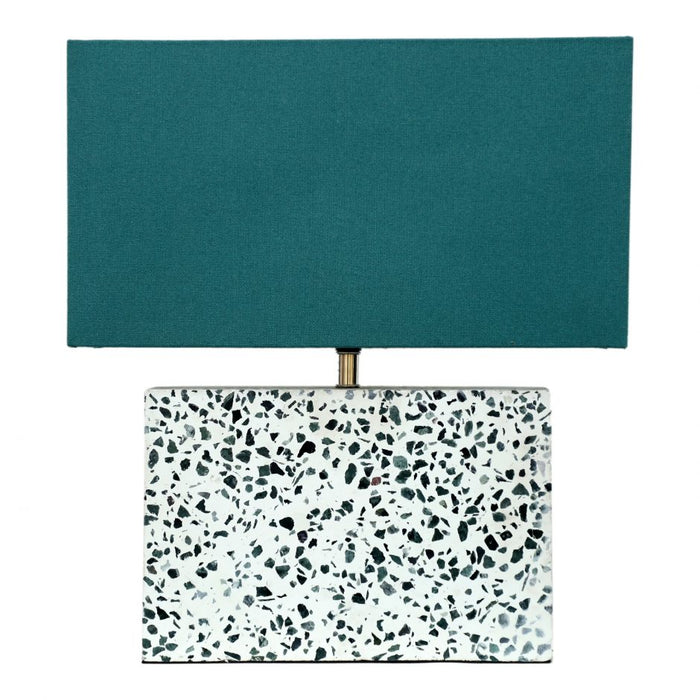 TERRAZZO RECTANGULAR TABLE LAMP
