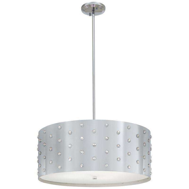 Bling Bling 4 Light Pendant Chrome