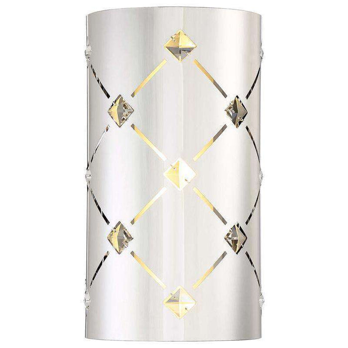 Crowned Wall Sconce Chrome