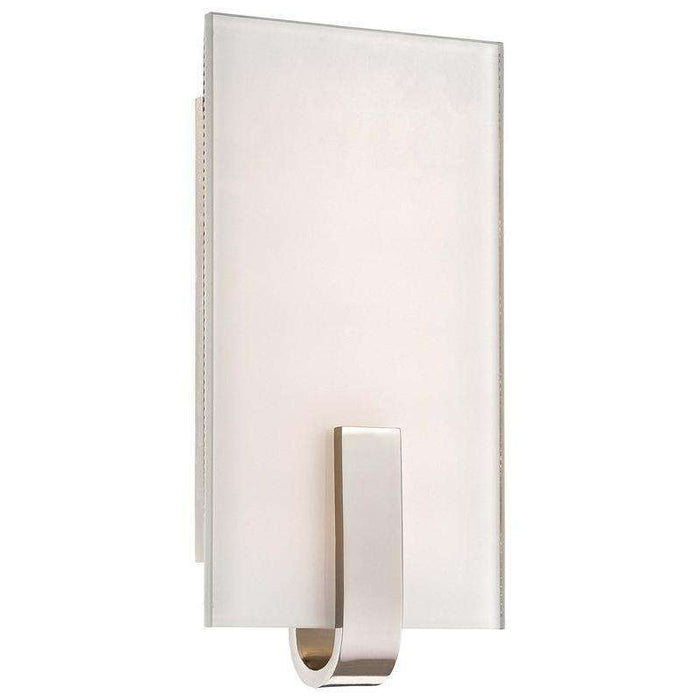 Led Wall Sconce Polished Nickel