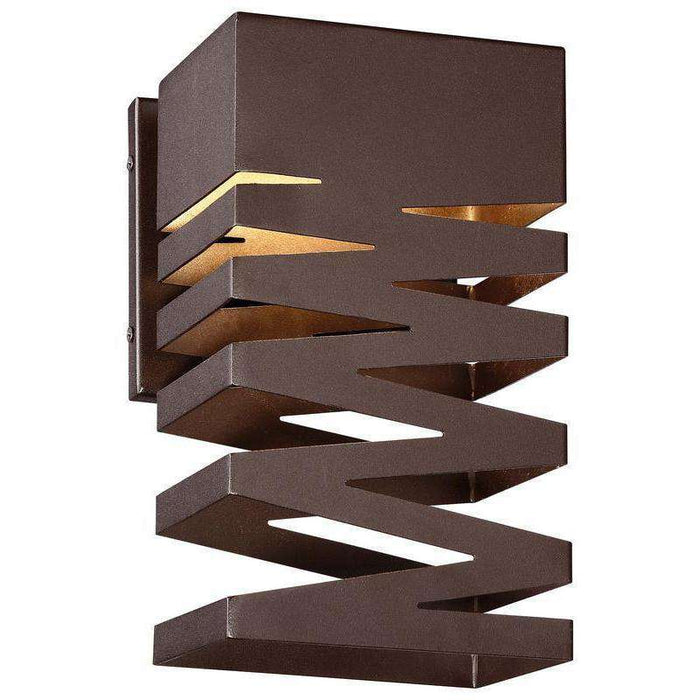 Outdoor Rizer Led Wall Sconce Sand Bronze