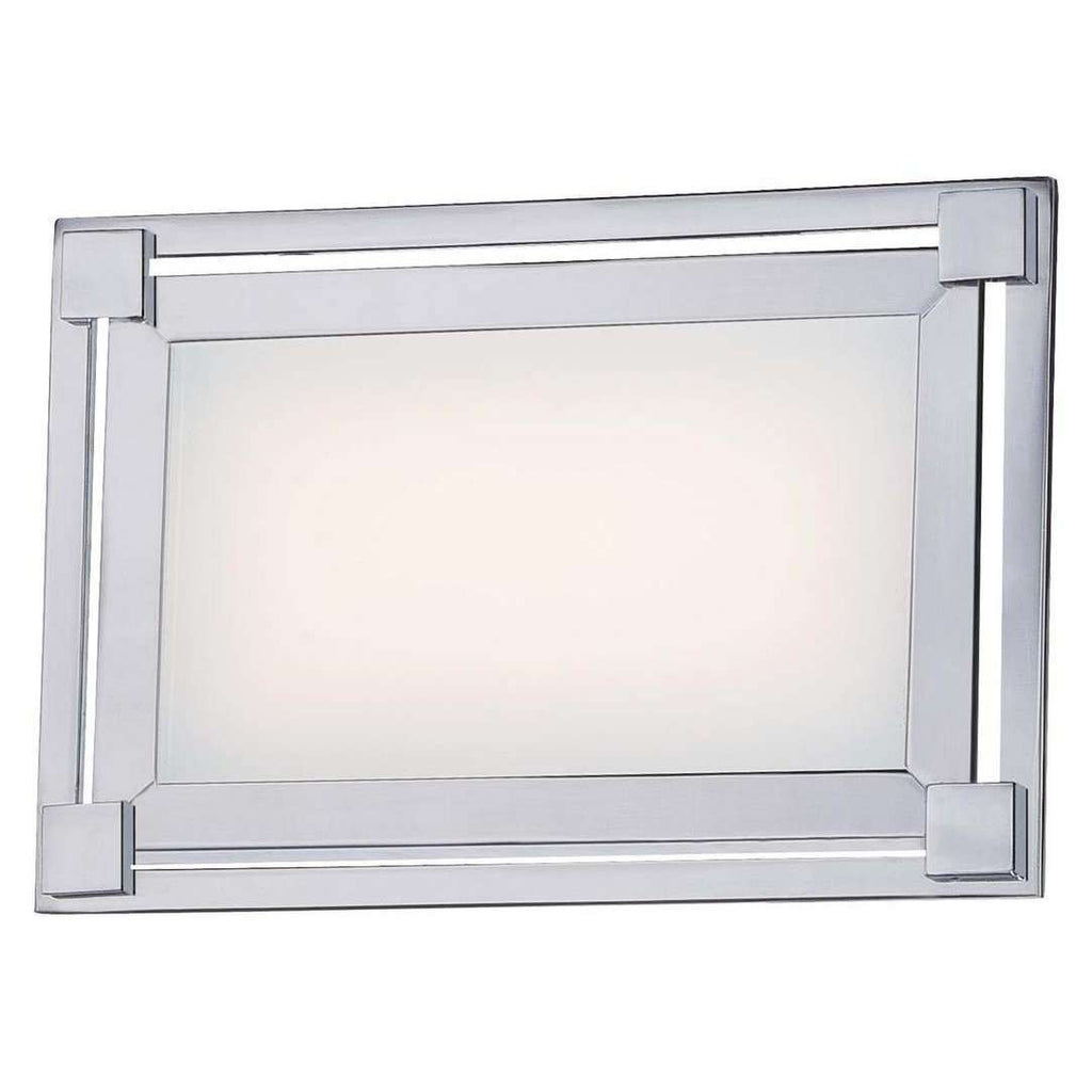 Framed Led Bath Chrome