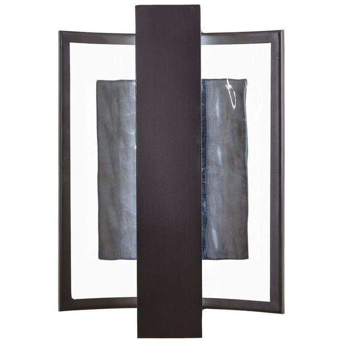 Outdoor Sidelight Led Wall Sconce Dorian Bronze