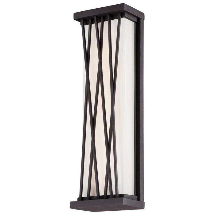 Outdoor Hedge Led Pocket Lantern Textured Dorian Bronze