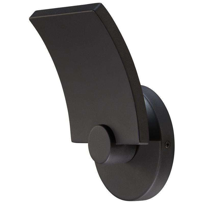 Outdoor Flipout Led Wall Sconce Black