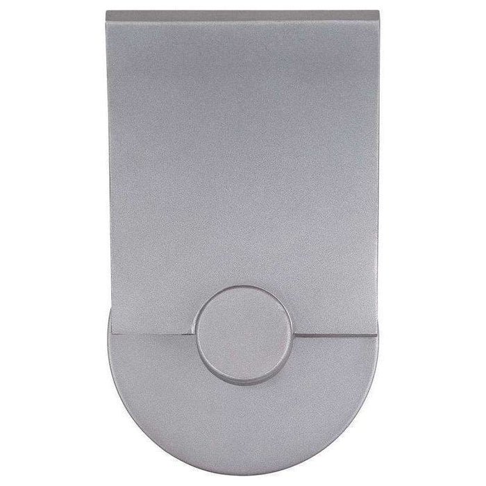 Outdoor Flipout Led Wall Sconce Sand Silver