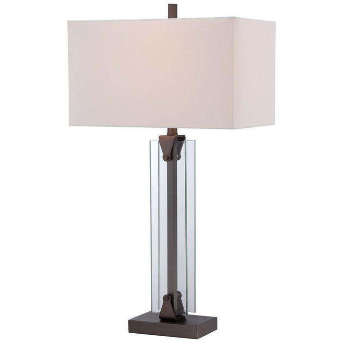 1 Light Table Lamp Harvard Court Bronze
