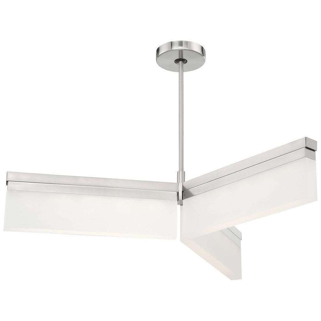 Skinny Led Island Brushed Nickel