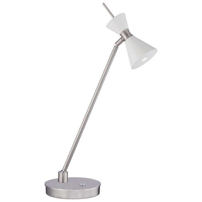 Conic Table Lamp Glitter Gloss White