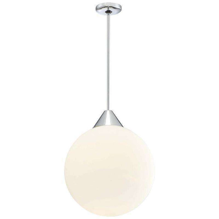 Simple 1 Light Pendant Chrome