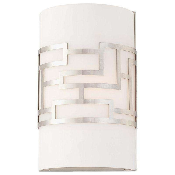 Alecia'S Necklace 1 Light Wall Sconce Brushed Nickel
