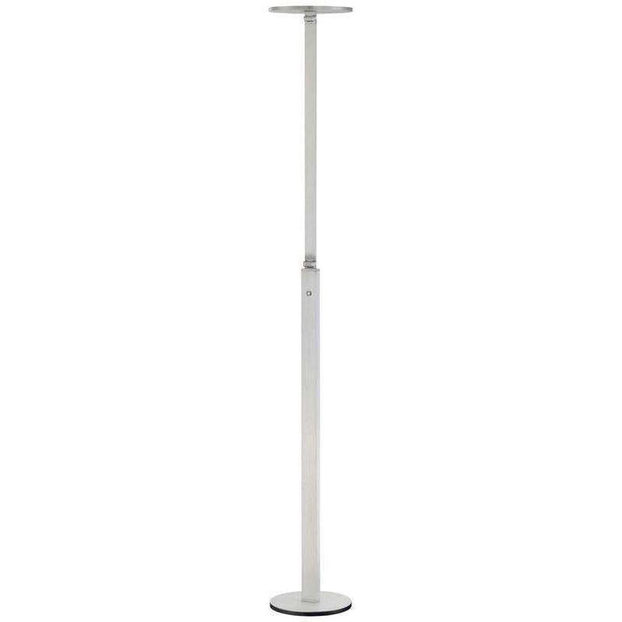 Floor Lamp Chiseled Nickel