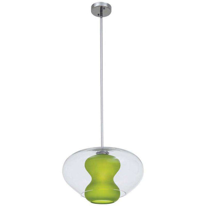 Soft 1 Light Pendant Chrome