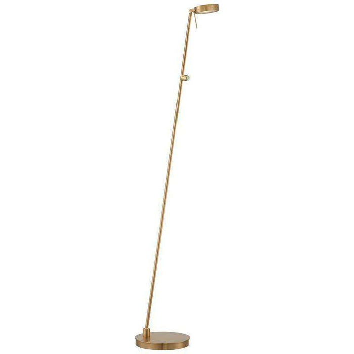 George'S Reading Room Floor Lamp Honey Gold