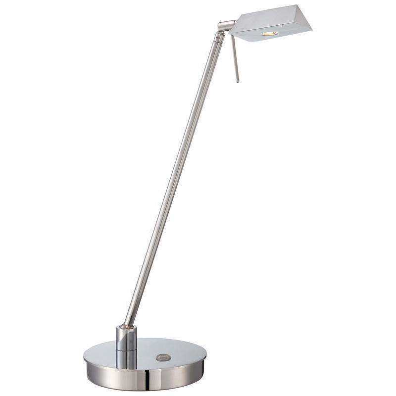 George'S Reading Room Table Lamp Chrome