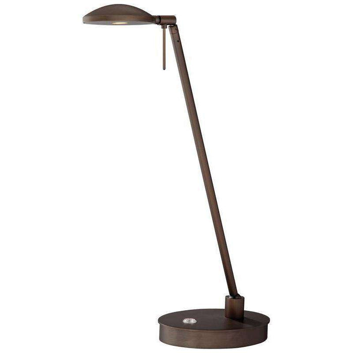 George'S Reading Room Table Lamp Copper Bronze Patina