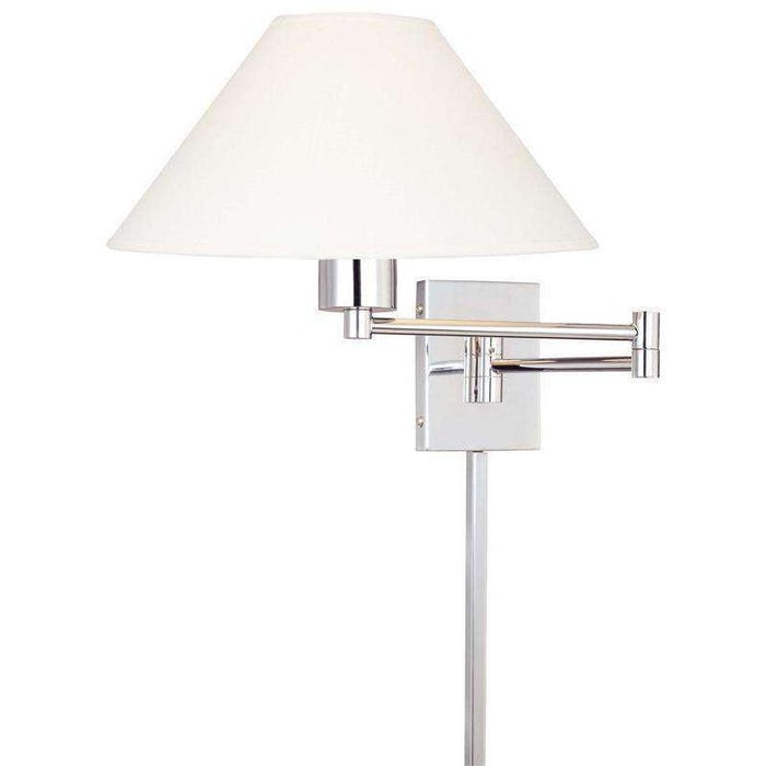 Boring 1 Light Swing Arm Wall Lamp Chrome