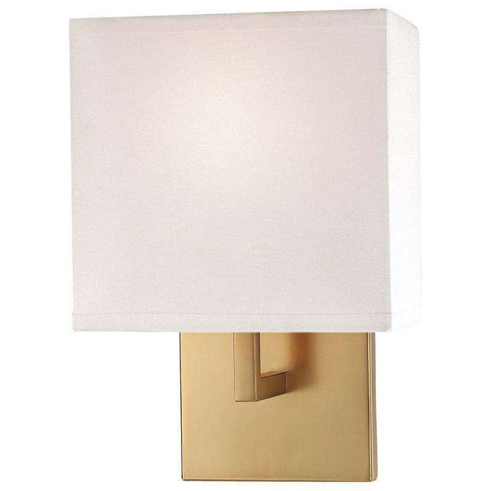 1 Light Wall Sconce Honey Gold