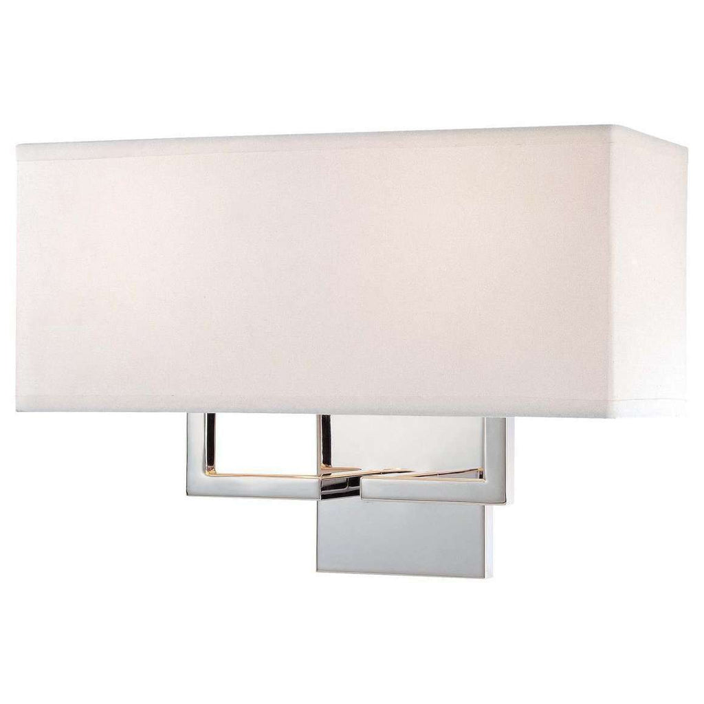 2 Light Wall Sconce Chrome