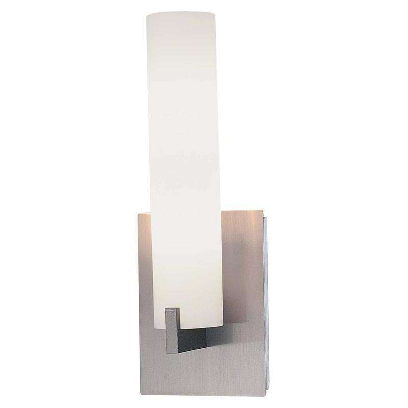 Tube 2 Light Wall Sconce Brushed Nickel