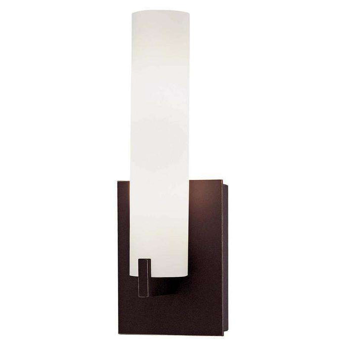 Tube Led Wall Sconce Dark Restoration Bronze