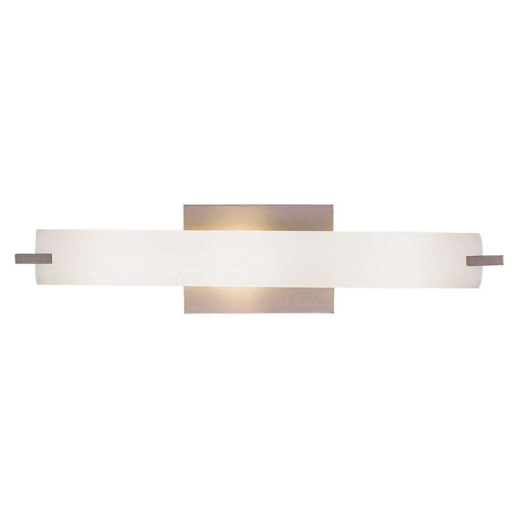 Tube 3 Light Wall Lamp Brushed Nickel