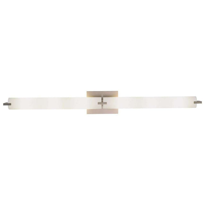 Tube Led Bath Brushed Nickel