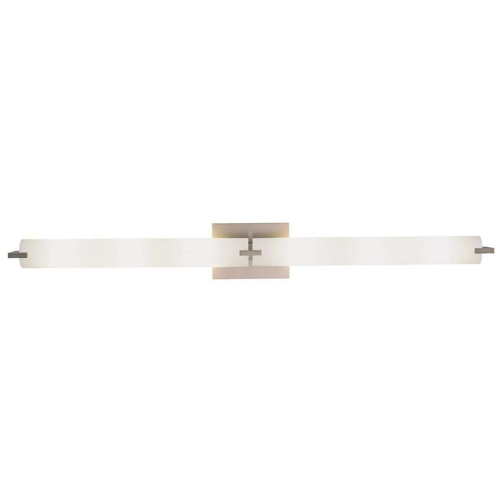 Tube 6 Light Bath Brushed Nickel