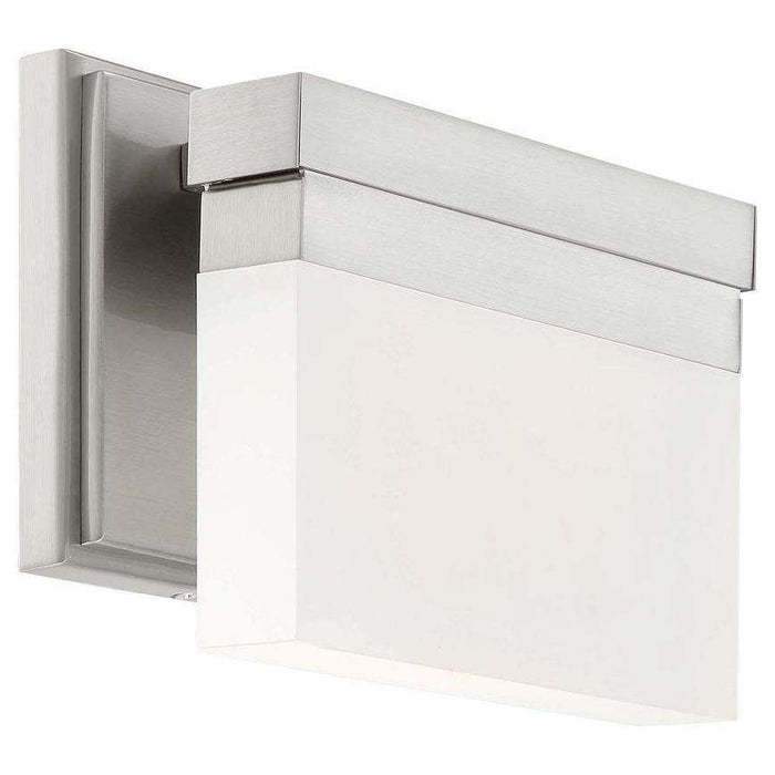 Skinny 1 Light Led Wall Sconce Brushed Nickel
